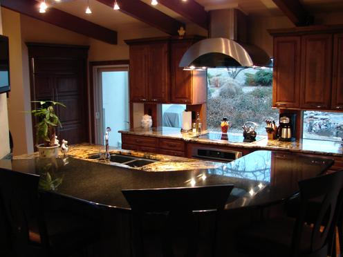 Stunning Kitchen Remodel In Greenwood Villiage Colorado Featuring The Brookhill Door Style In Knotty Alder